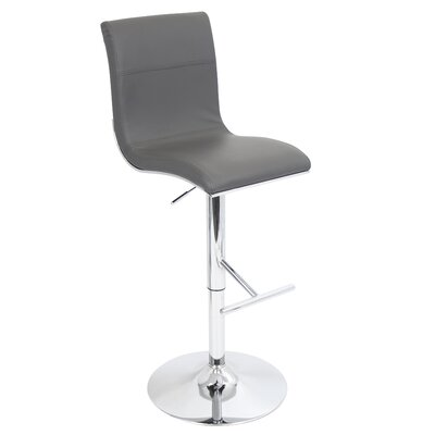 LumiSource Spago Adjustable Swivel Bar Stool