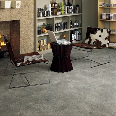 "Daltile Alta Vista 12"" x 12"" Porcelain Field Tile in Misty Rain"