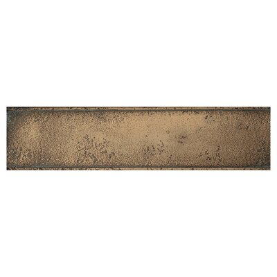 "Daltile Metal Signatures Chateau 12"" x 3"" Liner in Aged Bronze"