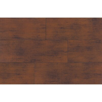 "Daltile Timber Glen 4"" x 24"" Rustic Field Tile in Cherry"