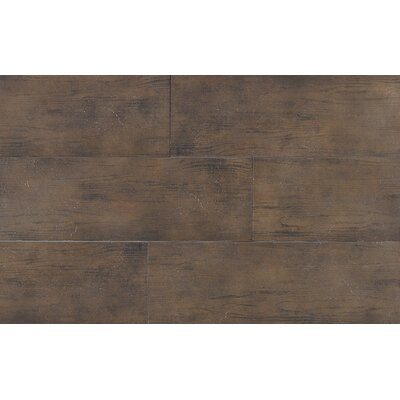 "Daltile Timber Glen 4"" x 24"" Rustic Field Tile in Espresso"