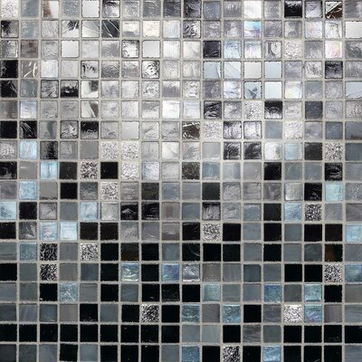 Daltile City Lights Mosaic Blend Field Tile in Manhattan