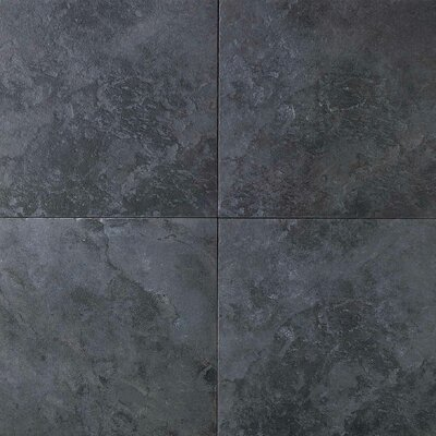 "Daltile Continental Slate 18"" x 12"" Field Tile in Asian Black"