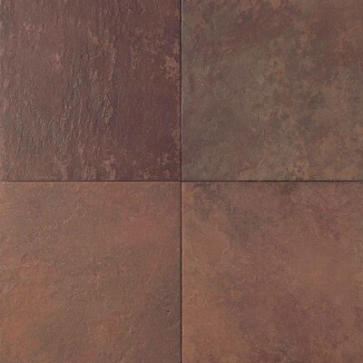 "Daltile Continental Slate 6"" x 6"" Field Tile in Indian Red"
