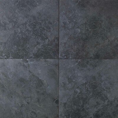 "Daltile Continental Slate 6"" x 6"" Field Tile in Asian Black"