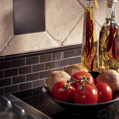 "Daltile Urban Metals 4-1/4"" x 4-1/4"" Decorative Accent in Bronze"