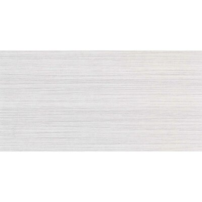 "Daltile Fabrique 12"" x 24"" Unpolished Field Tile in Blanc Linen"