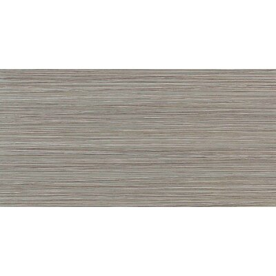 "Daltile Fabrique 12"" x 24"" Polished Field Tile in Gris Linen"