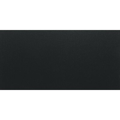 "Daltile Match Point 12"" x 24"" Unpolished Field Tile in Jet Black"