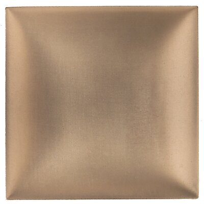 "Daltile Metallurgy 4"" x 4"" Square Field Tile in Bronze"