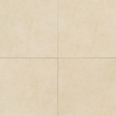 "Daltile Monticito 18"" x 18"" Plain Field Tile in Alba"