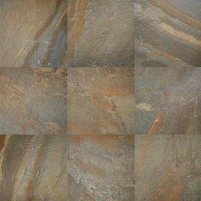 "Daltile Ayers Rock 13"" x 13"" Unpolished Field Tile in Rustic Remnant"