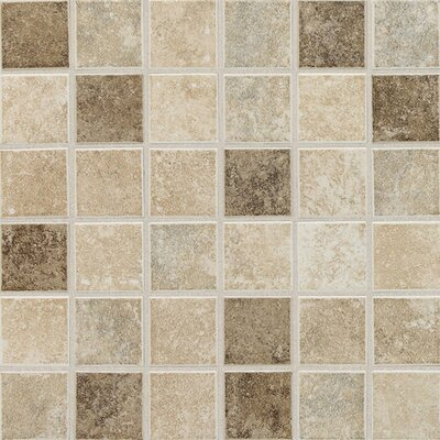 "Daltile Stratford Place 2"" x 2"" Plain Ceramic Mosaic in Stratford Blend"