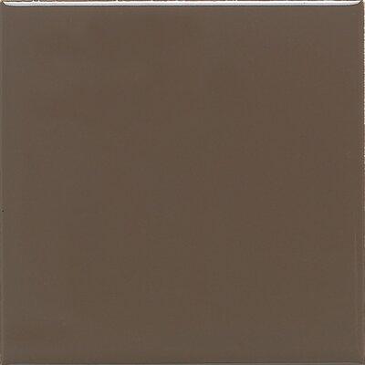 "Daltile Modern Dimensions 4"" x 2"" Straight-Joint Plain Ceramic Mosaic in Artisan Brown"