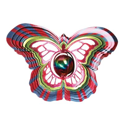 Iron Stop Designer Gazing Butterfly Wind Spinner