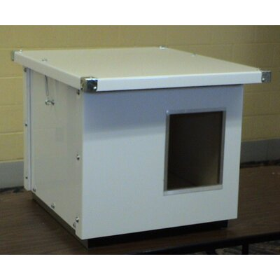 Options Plus Insulated Dog House with Aluminum Lining