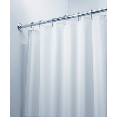 Waterproof Polyester Stall Shower Curtain / Liner