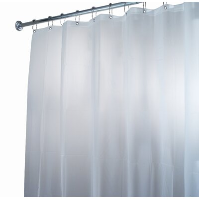 InterDesign EVA Waterproof Frost Shower Curtain / Liner