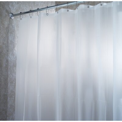 EVA Waterproof Frost Extra Long Chlorine Free Shower Curtain / Liner