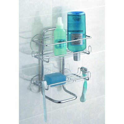 InterDesign Classico Suction Shower Shelves