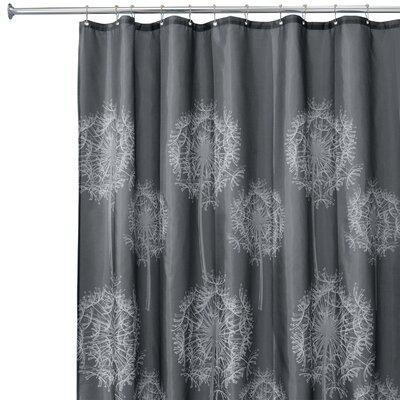 interdesign dandelion shower curtain reviews wayfair