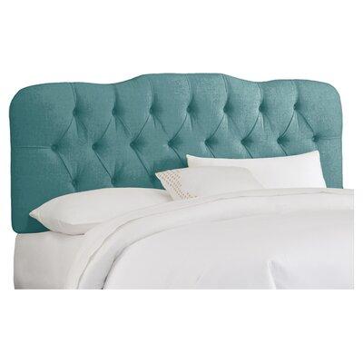 Skyline Furniture Tufted Linen Upholstered Headboard