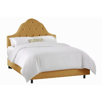 Skyline Furniture Tufted High Arch Upholstered Bed