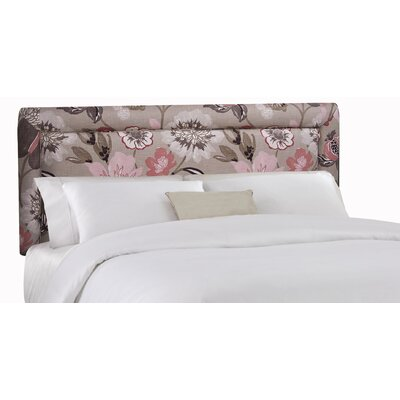 Floral Upholstered Headboard