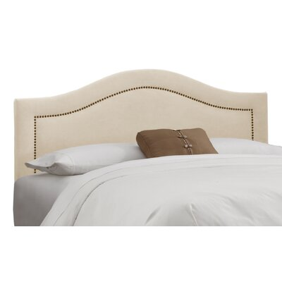 <strong>Skyline Furniture</strong> Nail Button Linen Upholstered Headboard