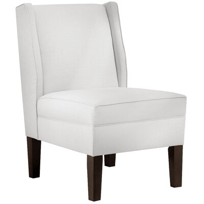 Twill Cotton Wingback Side Chair