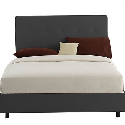 Skyline Furniture Button  Panel Bed