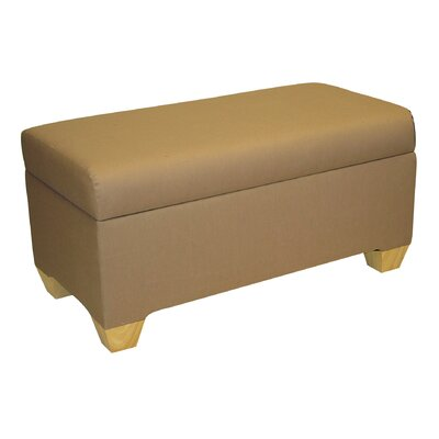 Skyline Furniture Fabric Bedroom Storage Ottoman