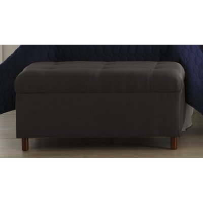 Skyline Furniture Micro-Suede Bedroom Storage Ottoman