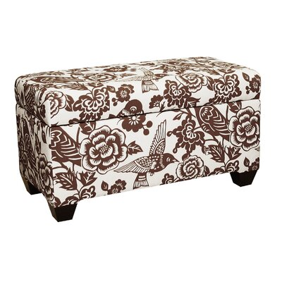 Skyline Furniture Canary Cotton Storage Ottoman