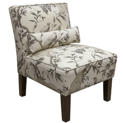 Skyline Furniture Roberta Fabric Slipper Chair