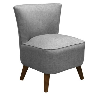 Skyline Furniture Groupie Mid Century Fabric Slipper Chair