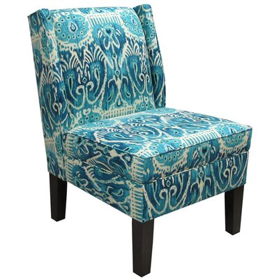 <strong>Skyline Furniture</strong> Wingback Fabric Slipper Chair