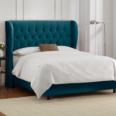 Skyline Furniture Wingback Linen Bed