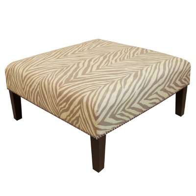 Skyline Furniture Nail Button Cocktail Ottoman