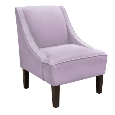 Skyline Furniture Swoop Linen Arm Chair