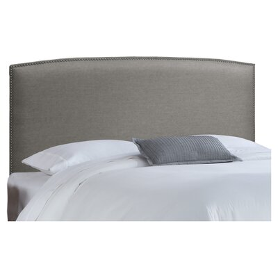 <strong>Skyline Furniture</strong> Nail Button Fabric Upholstered Headboard