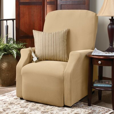 sure fit stretch pique medium recliner slipcover reviews