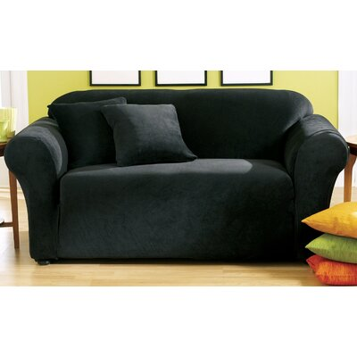 Stretch Pique Loveseat Slipcover