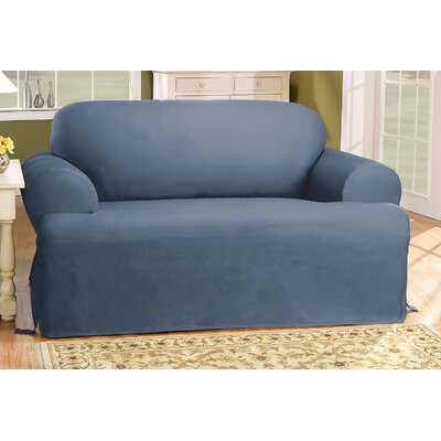 Cotton Duck Chair T-Cushion Slipcover