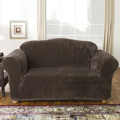 Sure-Fit Stretch Royal Diamond Loveseat Slipcover
