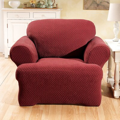 Sure-Fit Stretch Sullivan Club Chair T-Cushion Slipcover