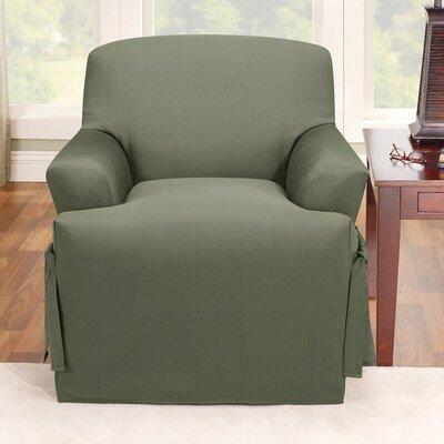 Sure Fit Logan Chair T Cushion Slipcover Reviews Wayfair