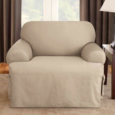Sure-Fit Logan Chair T-Cushion Slipcover