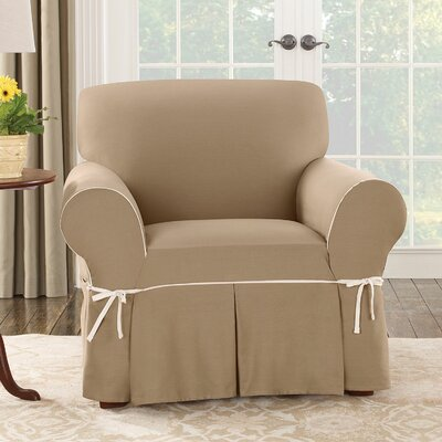 sure fit cotton duck club chair slipcover reviews wayfair