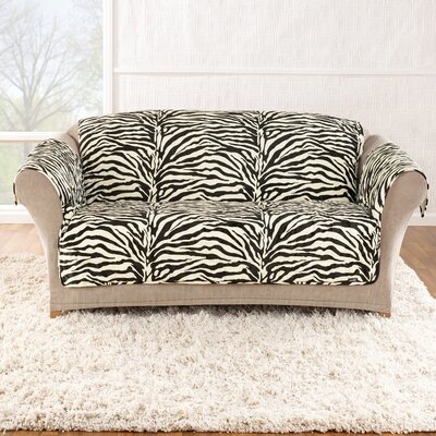 Zebra quick sofa cover wayfair for Zebra sectional sofa